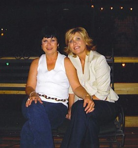 Debra with her sister