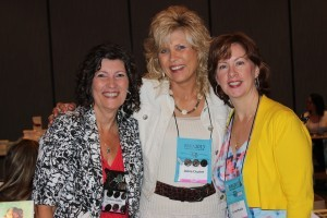Debra Clopton and Colleen Coble and Rachel Hauck At the Avon/Zondervan/Thomas Nelson book signing