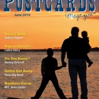 Postcards Magazine with author Debra Clopton