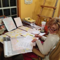 A full day of checking plot points for Gotta Have Hope Debra Clopton